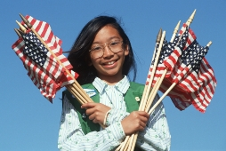 Study Abroad Awards for Girl Scouts